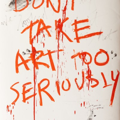 Don't Take Art Too Seriously