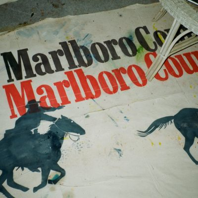 Marlboro Country (Richard Prince Rip-Off)