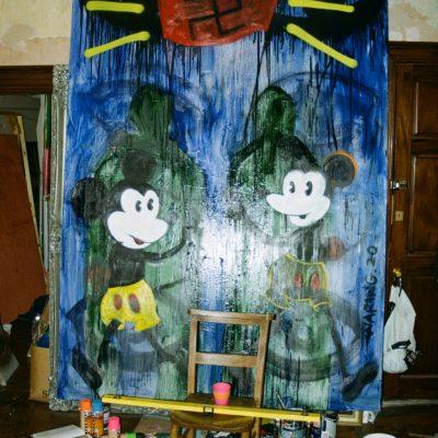 Untitled (Swastika Painting I)