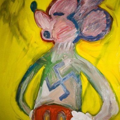 Detail of 'Untitled (Swastika Painting II)'